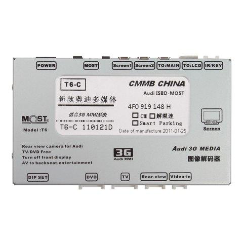 MOST-видеоинтерфейс для Audi 3G MMI+ 2009– г.в. Превью 1