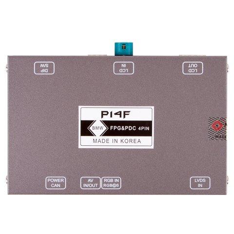 Адаптер подключения камеры переднего вида для BMW с системой CIC Прев'ю 1