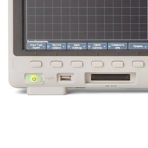 Фосфорний цифровий осцилограф SIGLENT SDS1102X+ Прев'ю 6