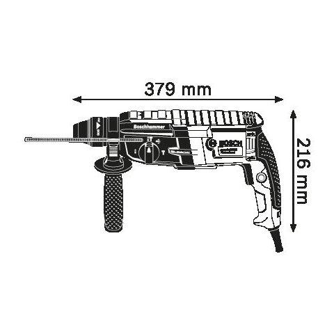Перфоратор професійний Bosch GBH 2-28