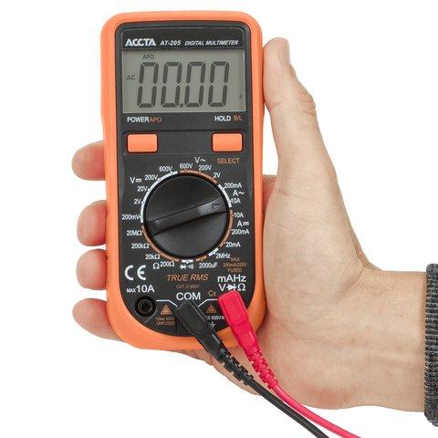Цифровий мультиметр Accta AT-205 Прев'ю 4