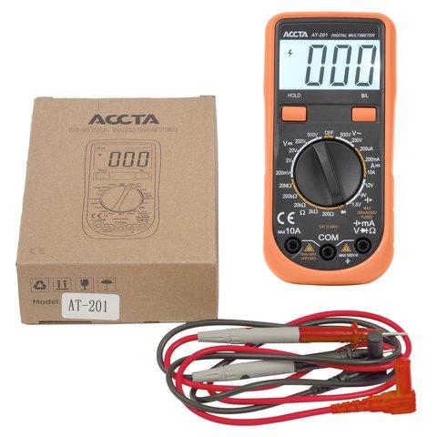 Цифровий мультиметр Accta AT-201 Прев'ю 5