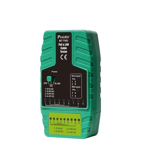 Тестер кабелю Pro'sKit MT-7063 Прев'ю 2