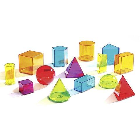 Обучающий игровой набор Learning Resources 3D-Геометрия Превью 1