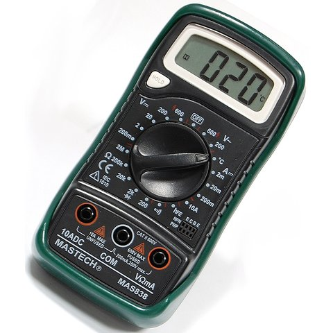 Digital Multimeter MASTECH MAS838 Preview 1